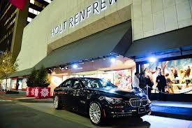 HOLT RENFREW - front of store