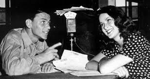 Sinatra w woman at mic